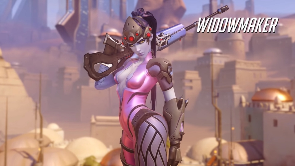 Overwatch Widowmaker Gay