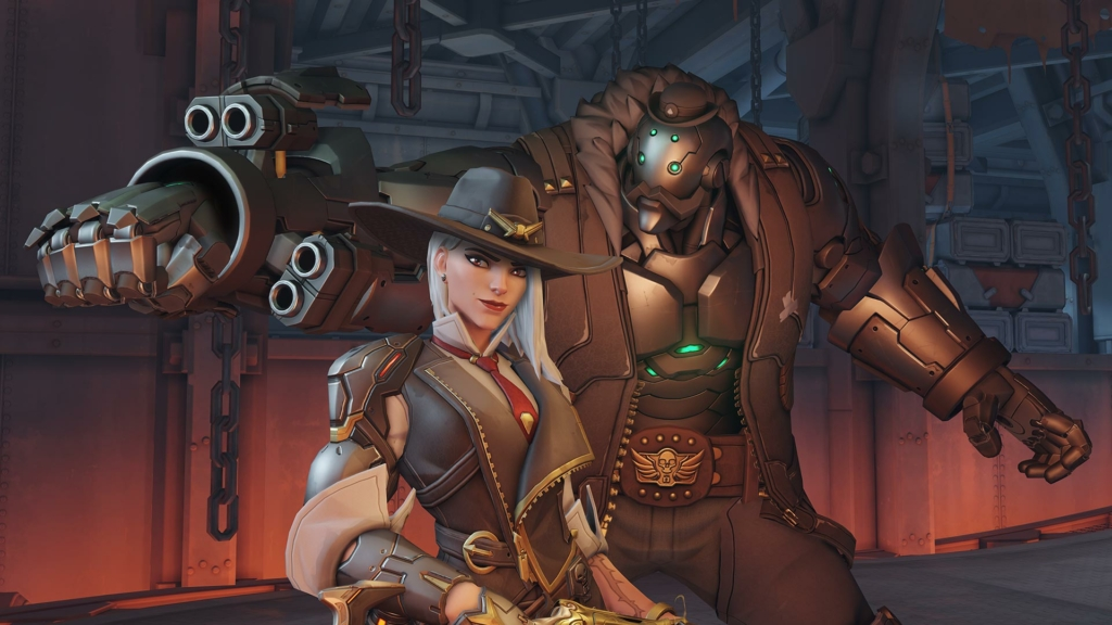Overwatch Ashe Gay