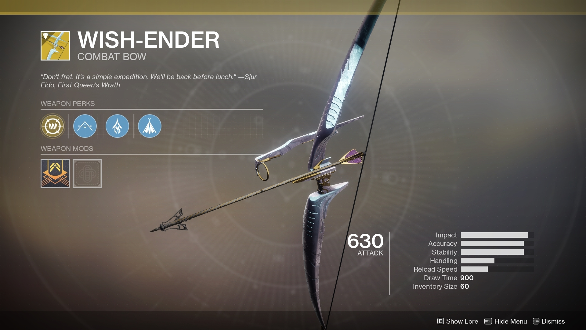How To Get The Wish Ender Exotic Bow Destiny 2 Guide