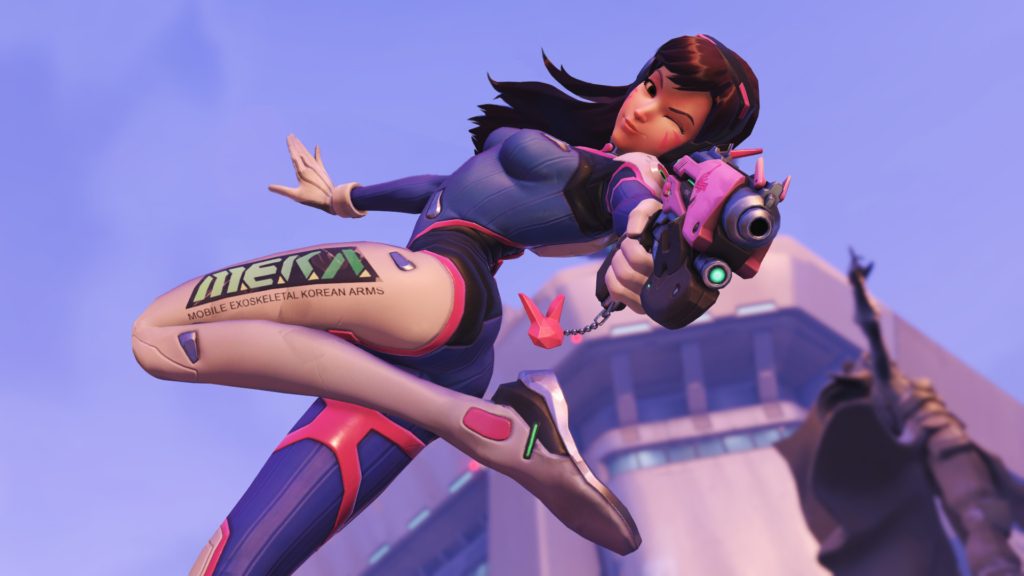 Overwatch D.Va Gay