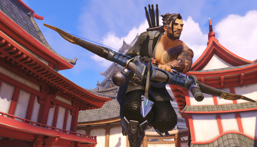 Overwatch Hanzo Gay