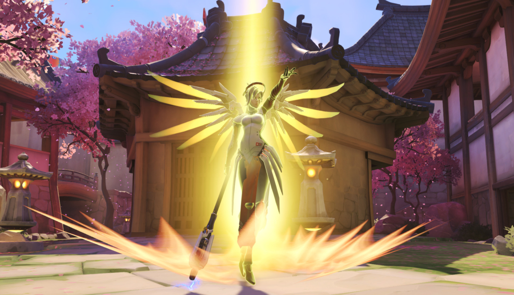 Overwatch Mercy Gay