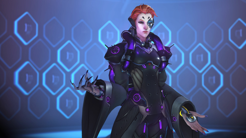 Overwatch Moira Gay