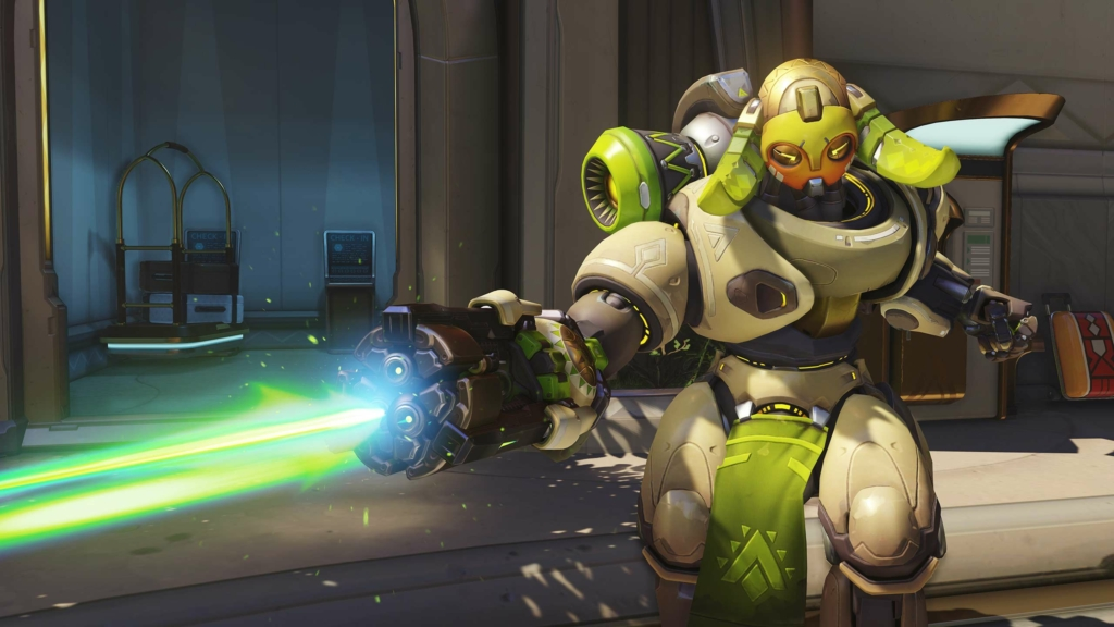 Overwatch Orisa Gay