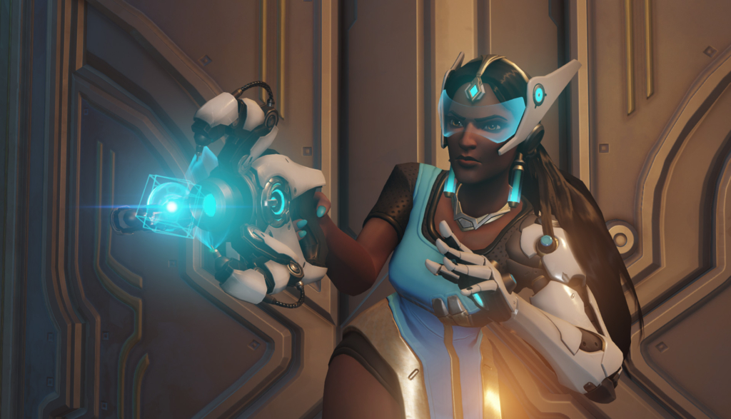 Overwatch Symmetra Gay