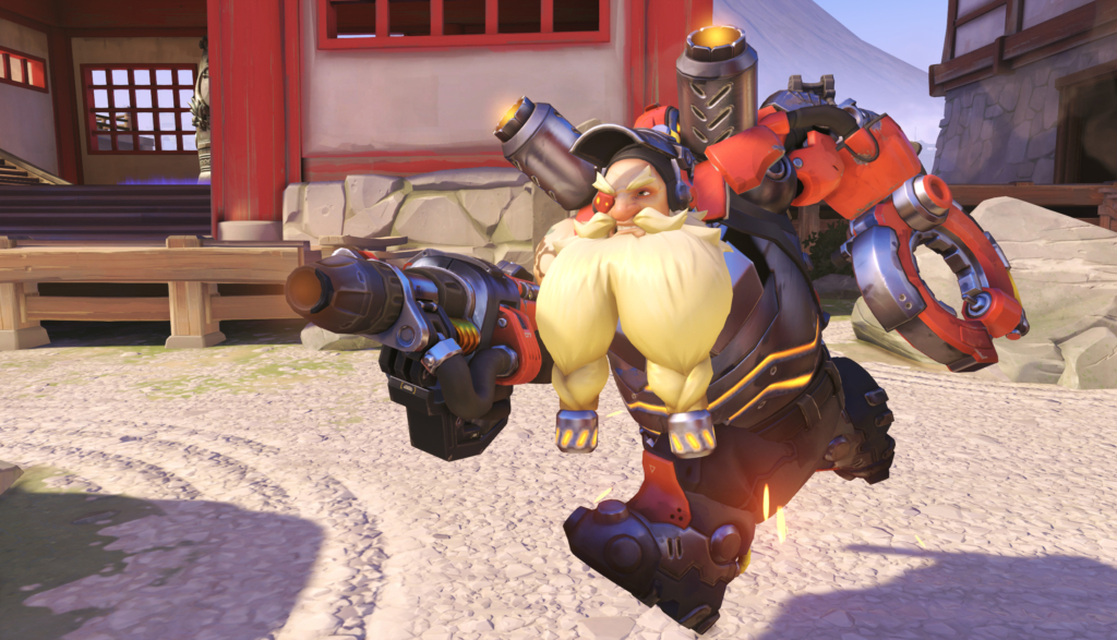 Ovewatch Torbjorn Gay