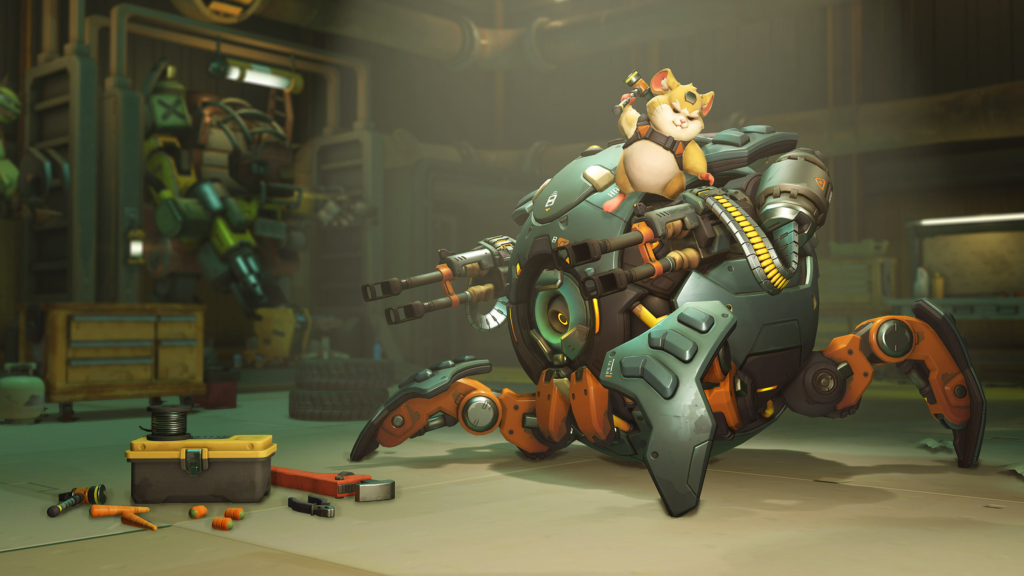 Overwatch Hammond Gay
