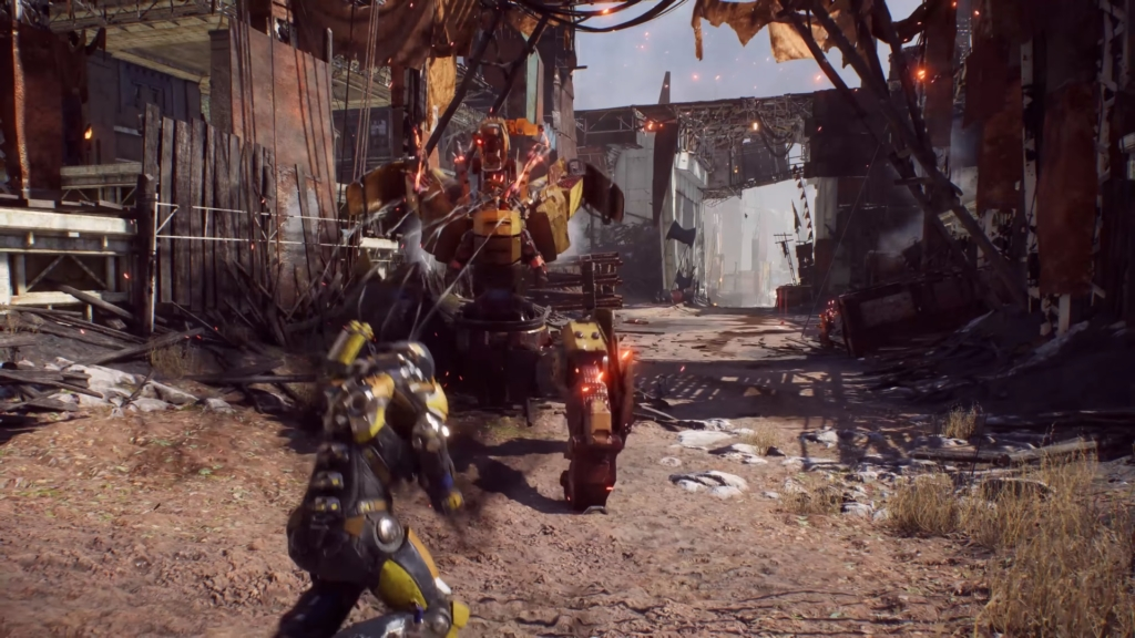 Anthem Damage Resistance