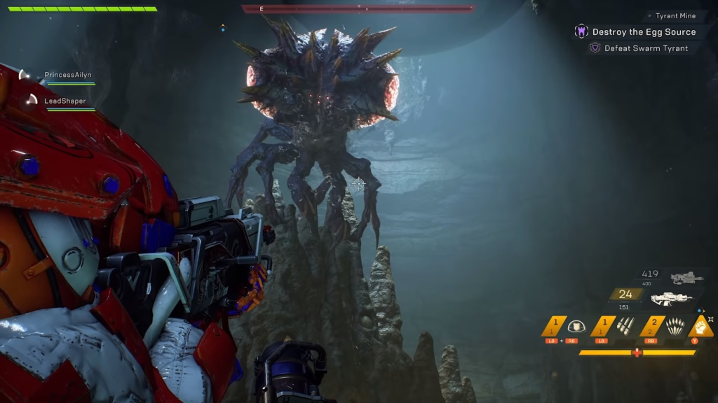 Anthem Tyrant Mine 3