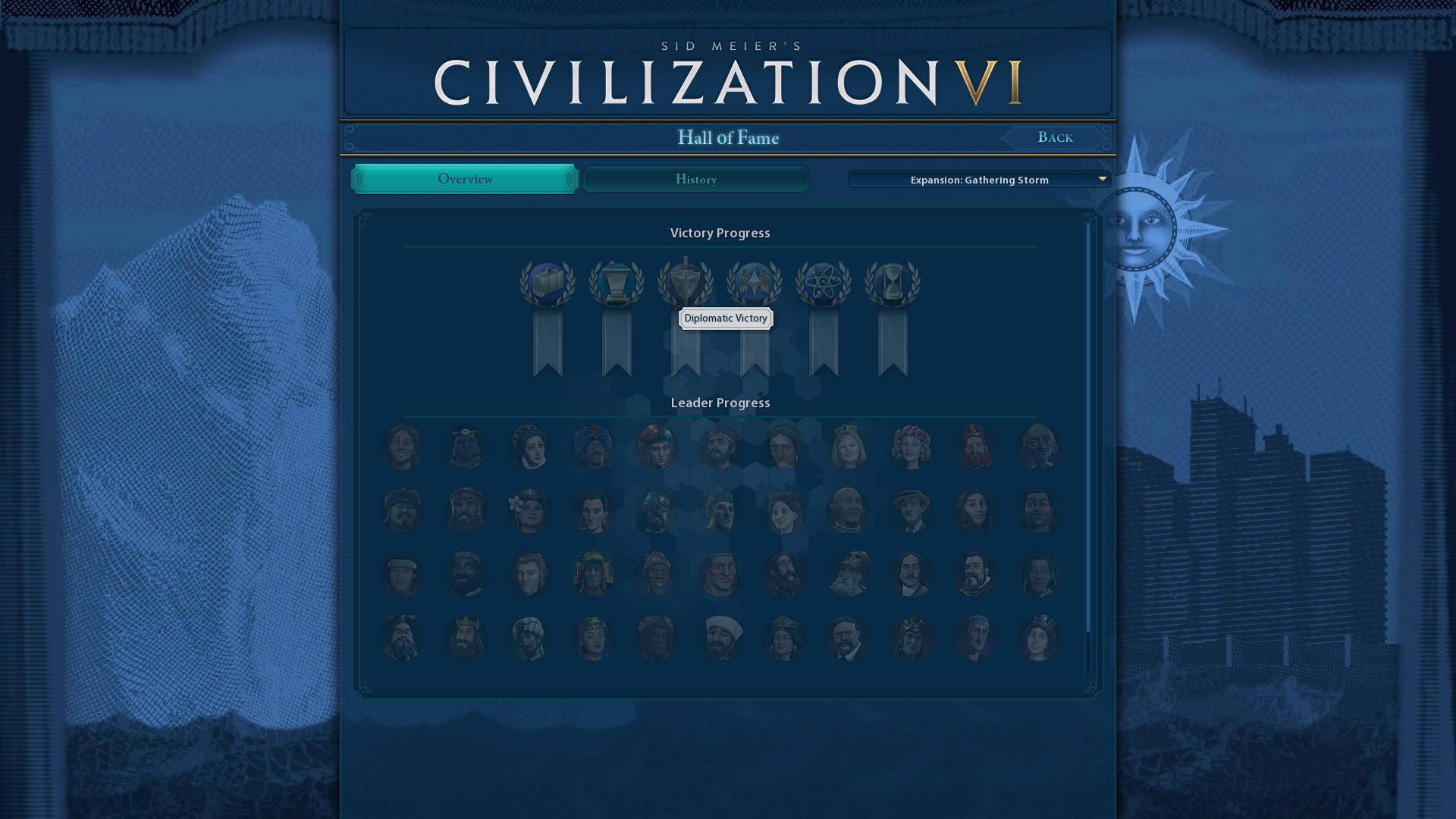 Civ 6 Hall of Fame