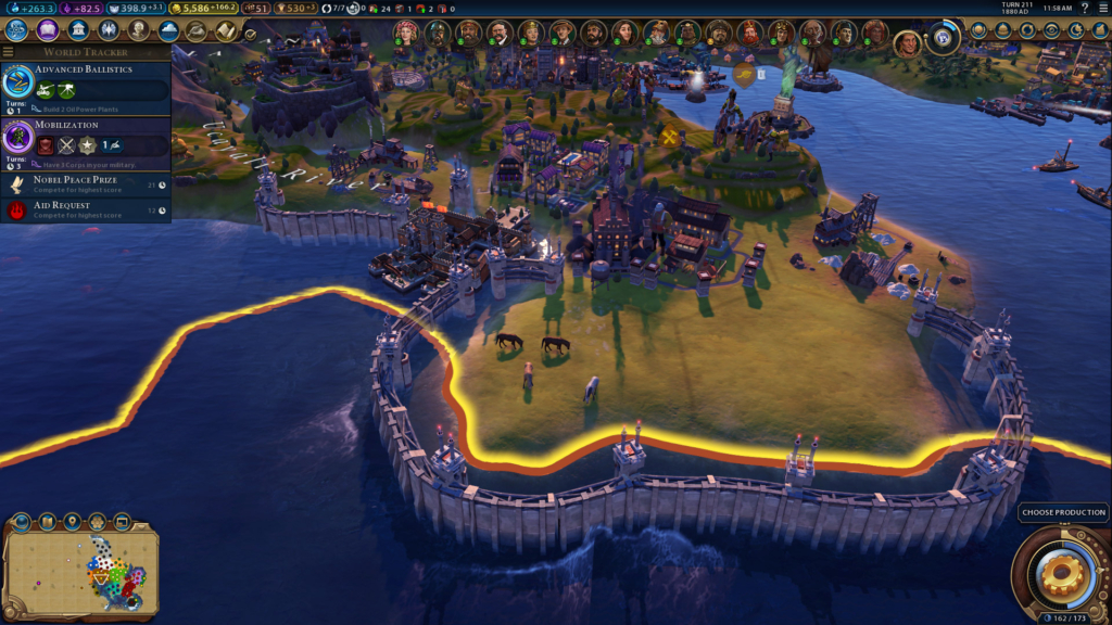Civilization 6 Power Guide: Consumable Resources, Global Warming