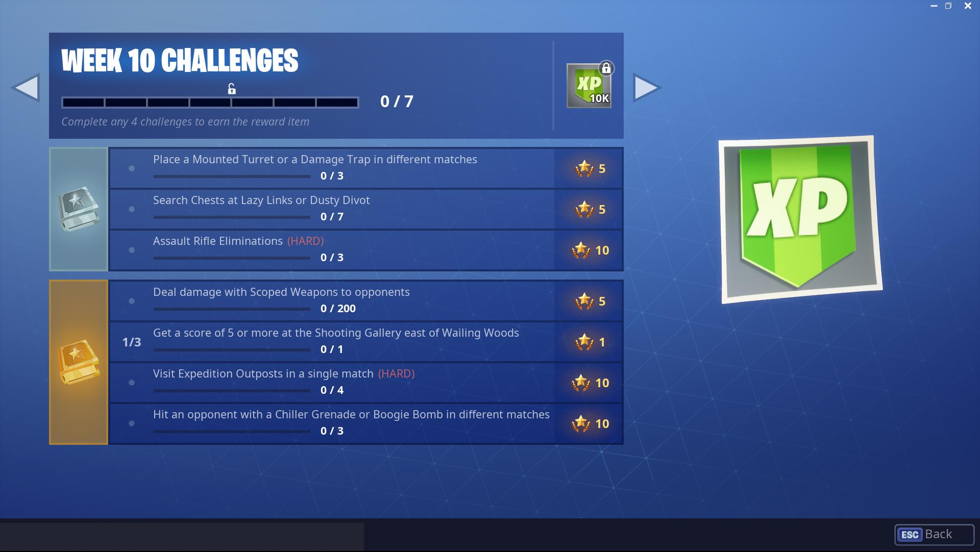 it s the final week of fortnite season 7 battle pass challenges if you like us are still a few dozen levels away from unlocking the beef boss - division 5 fortnite scoring