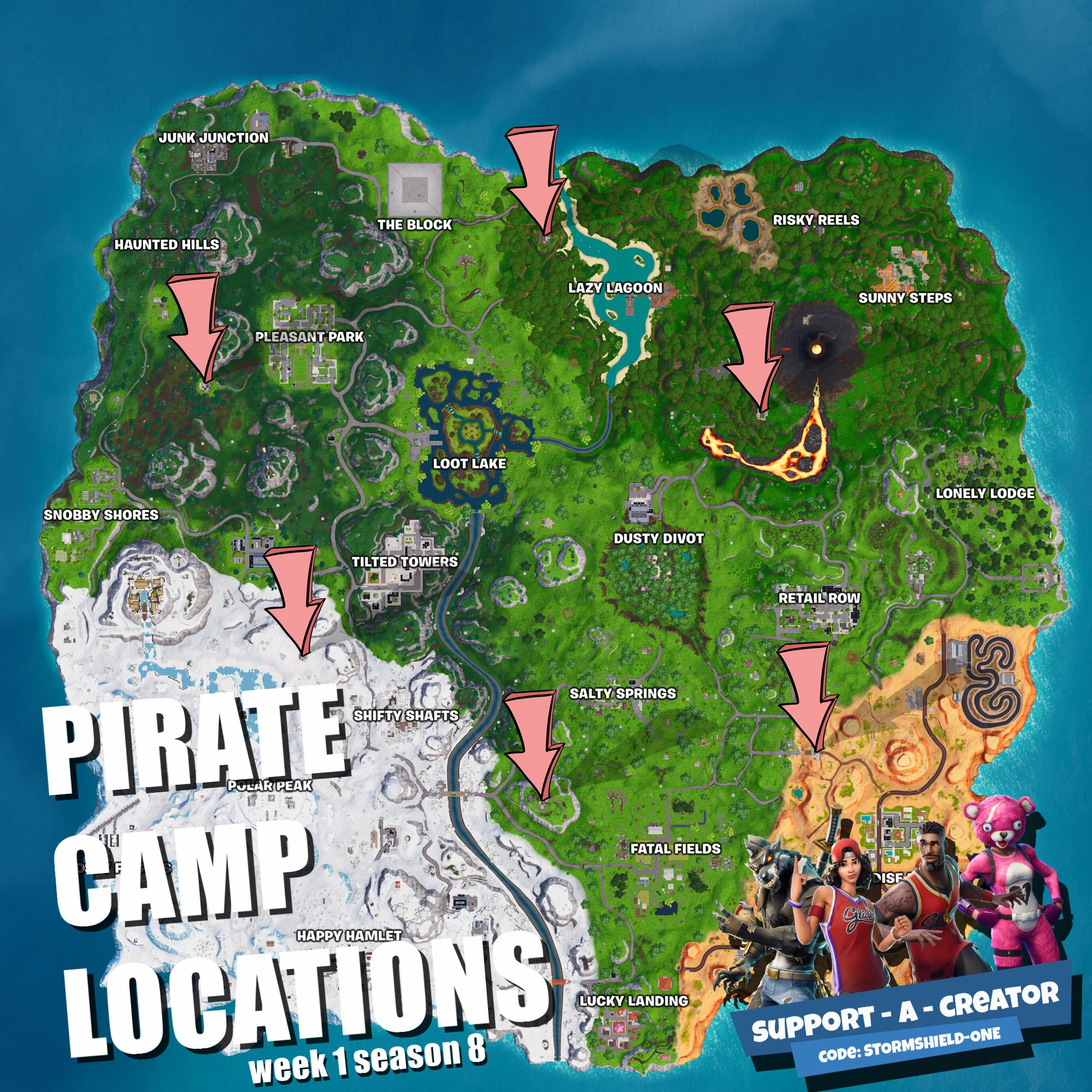 click for full resolution remember the expedition camps from season - jigsaw puzzle piece locations fortnite season 8