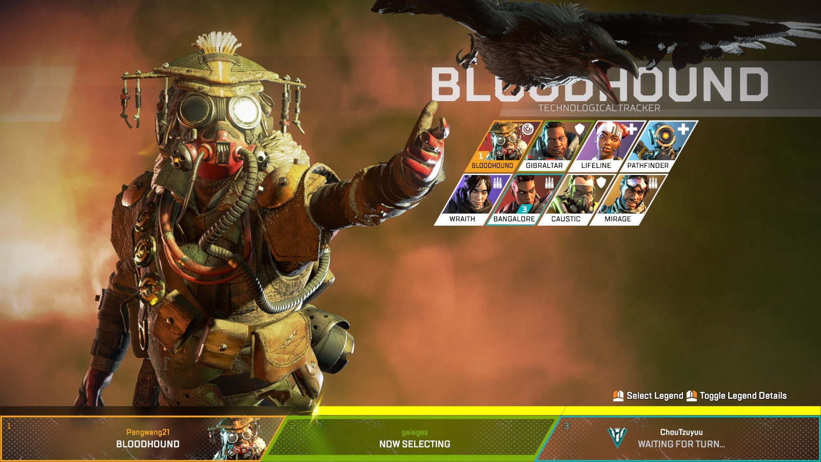 Apex Legends Bloodhound Guide