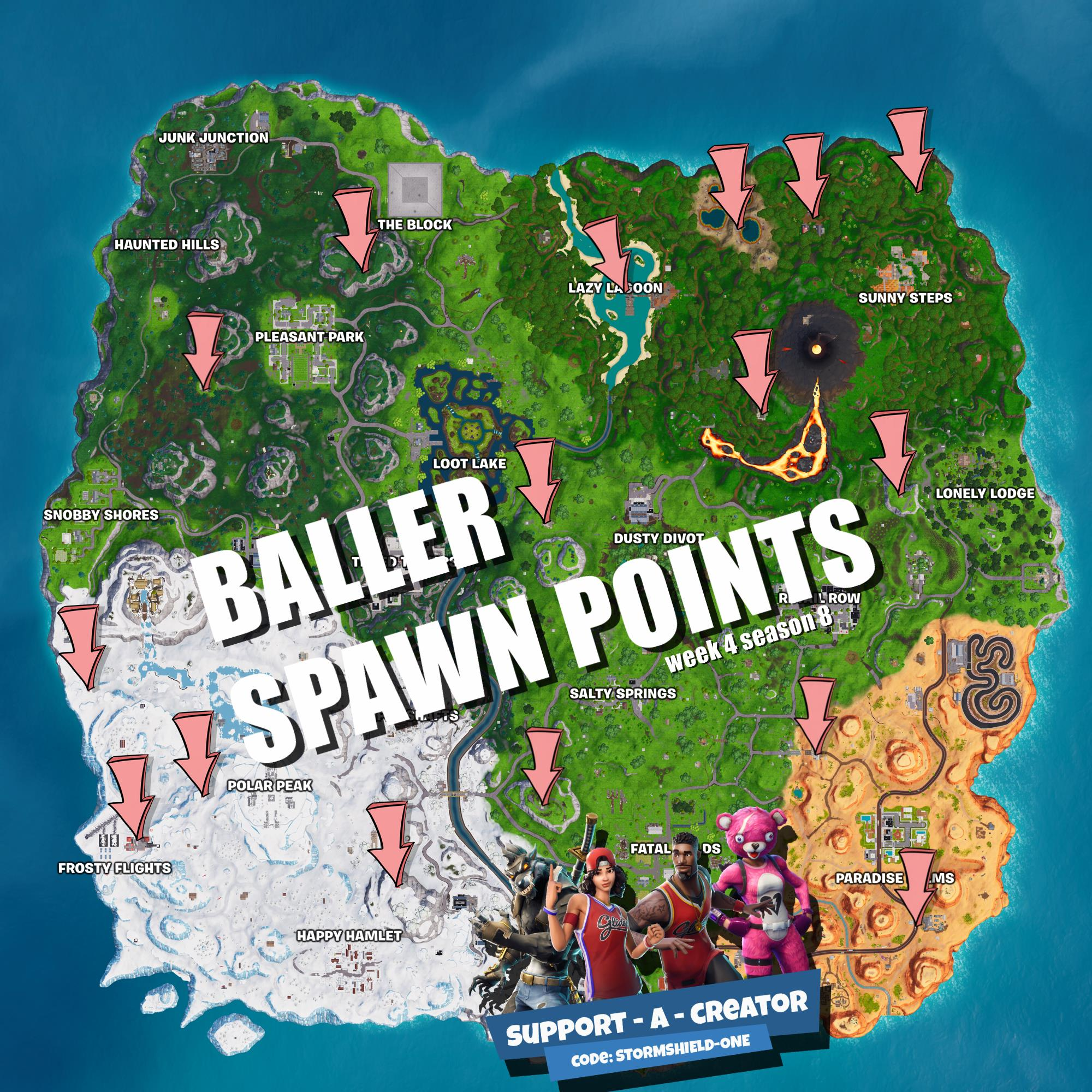 click to embiggen - baller spawn fortnite
