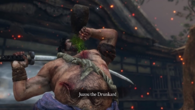 Sekiro Beat Juzou the Drunkard 1
