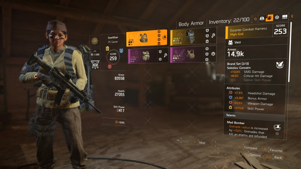 The Division 2 Loadouts