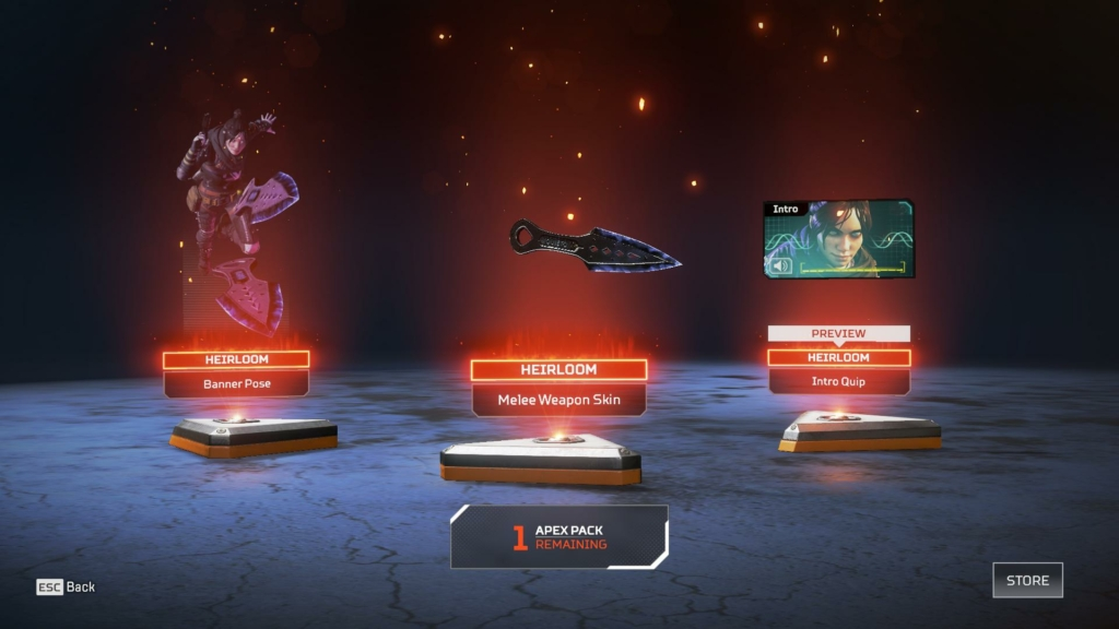Apex Legends Heirloom