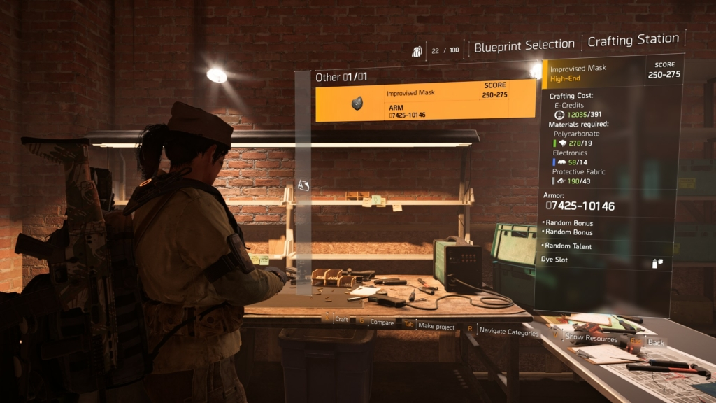 The Division 2 Crafting Guide: Tips on How & When to Make
