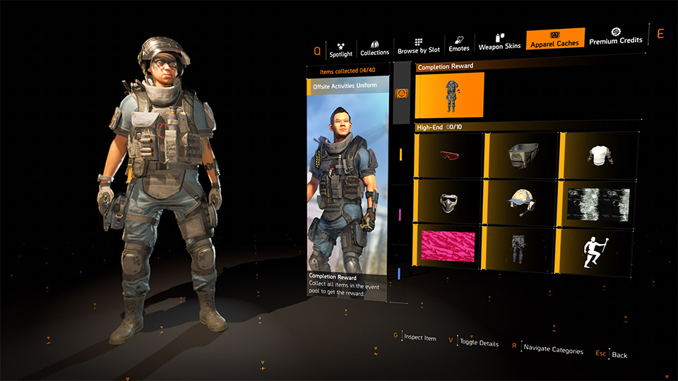The Division 2 Apparel Event Guide: Dark Hours Outfits