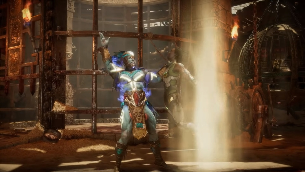 Mortal Kombat 11 Kotal Kahn Gameplay