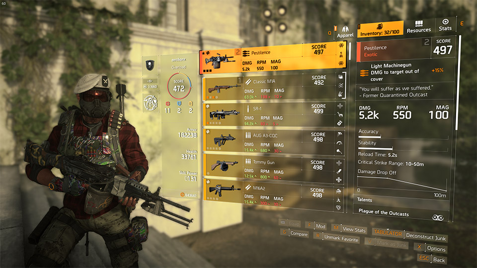 The Division 2 Exotics Guide: All Exotics and How to Get Them