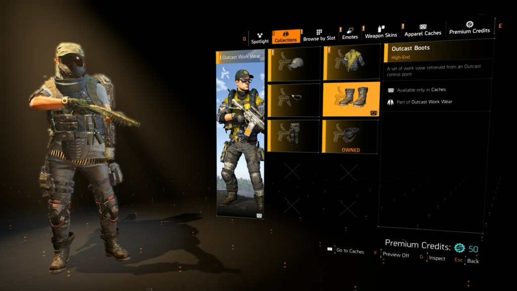 The Division 2 Apparel Event Invasion Keys