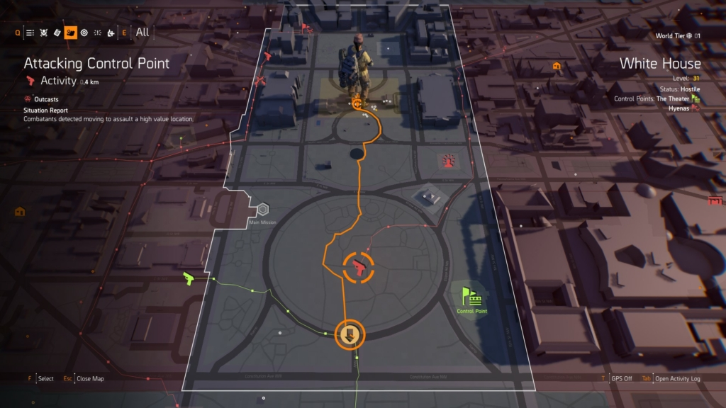 The Division 2 Faction Keys Guide