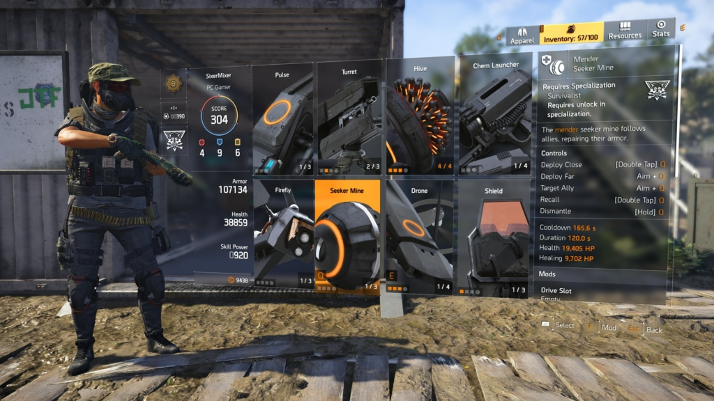 The Division 2 Skill Power