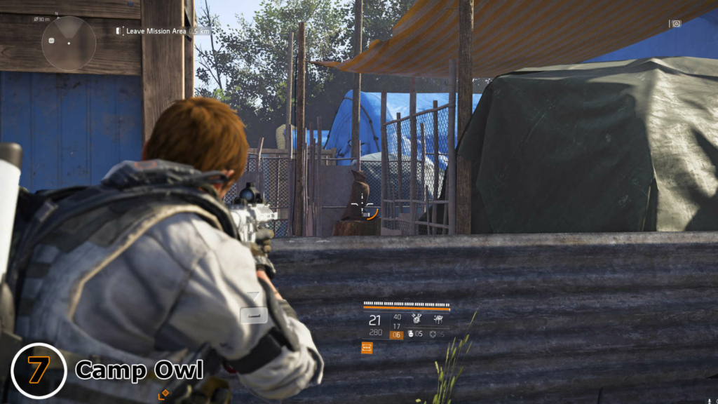The Division 2 Camp Owl