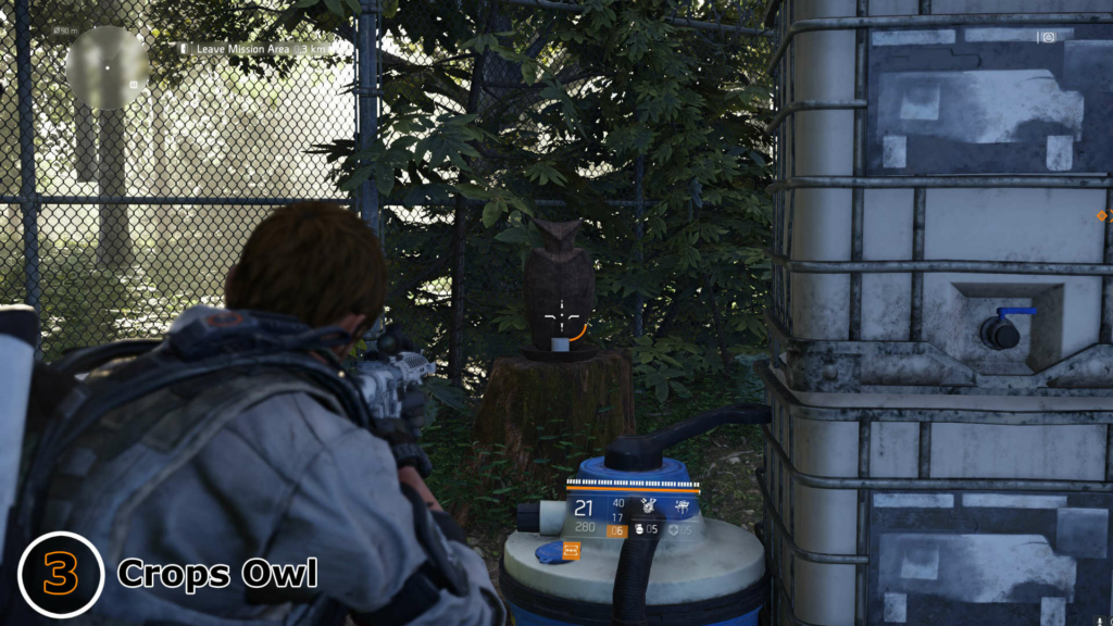 The Division 2 Crops Owl