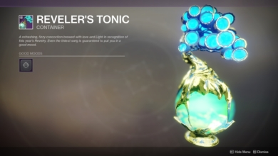 Photo of Destiny 2 Players Really Don't Like Reveler's Tonic in PVP