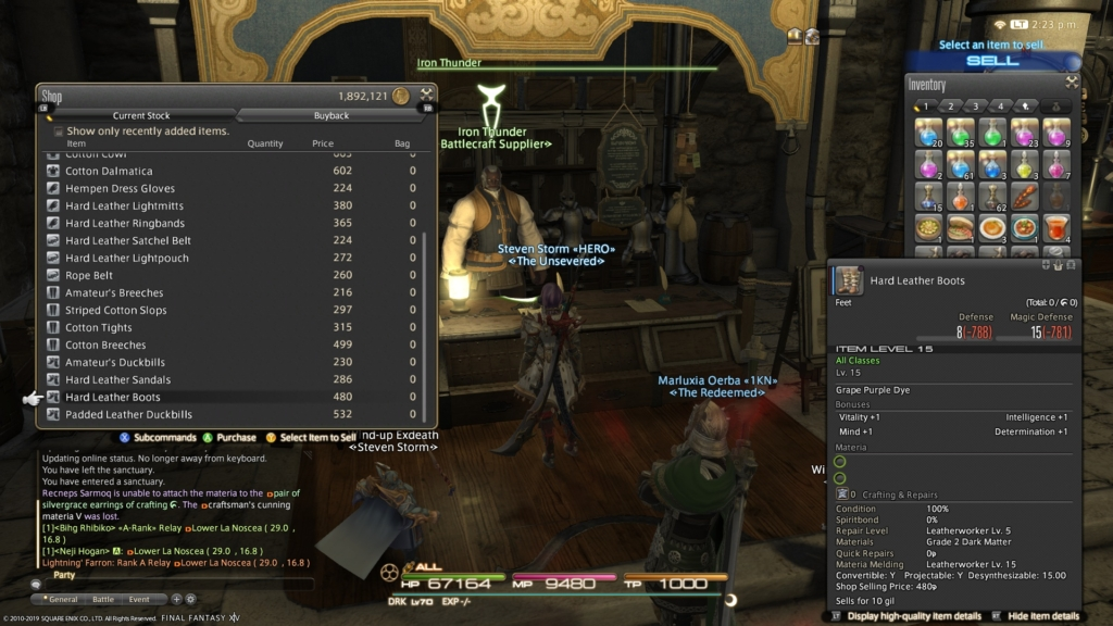 FF14 Fashion Report: Easy 80 Points This Week - May 31, 2019