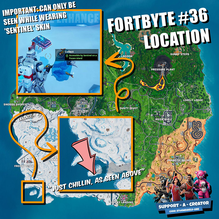 Fortnite Fortbytes Guide - All Known Challenges, Locations