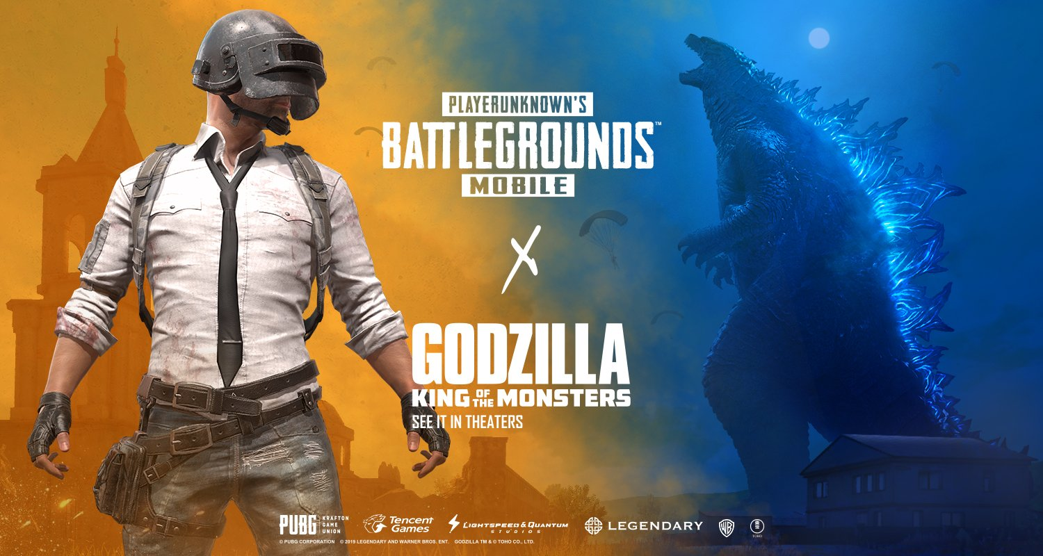 Pubg Mobile Godzilla Collaboration Stomps Out Resident Evil 2