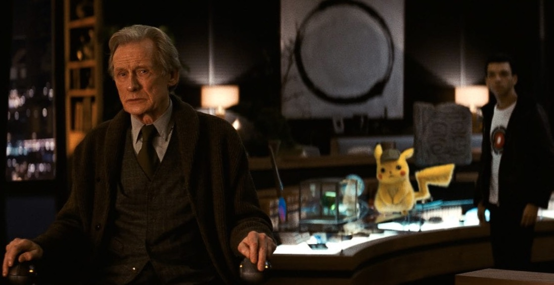 Did Bill Nighy Shtup His Ditto In Detective Pikachu