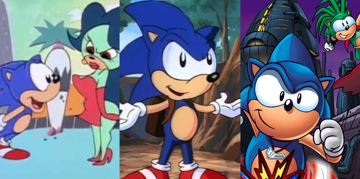 American Sonic Adaptations Have Always Been Weird