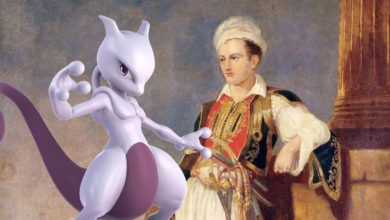 Photo of Mewtwo is Basically Notorious 19th Century Poet Lord Byron