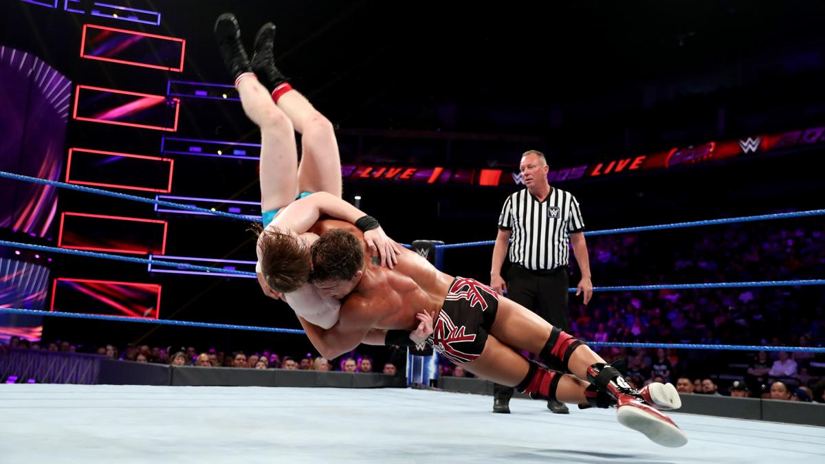 Chad Gable suplexed Jack Gallagher to oblivion on this week's 205 Live.