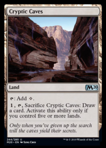 MTG Cryptic Caves