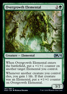 MTG Overgrowth Elemental