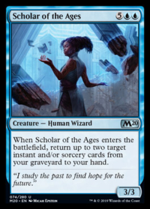 MTG Scholar of the Ages