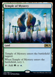 MTG Temple of Mystery