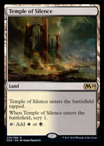 MTG Temple of Silence