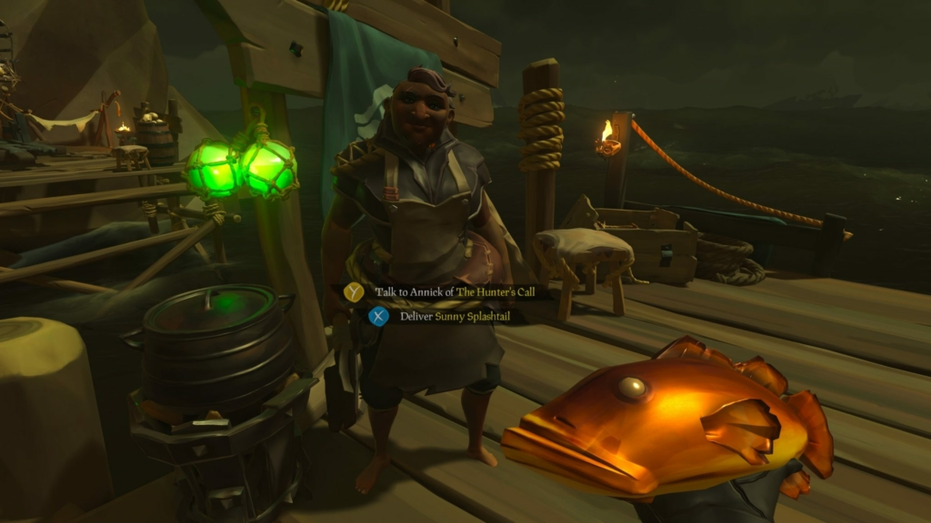 Sea of Thieves Selling Food