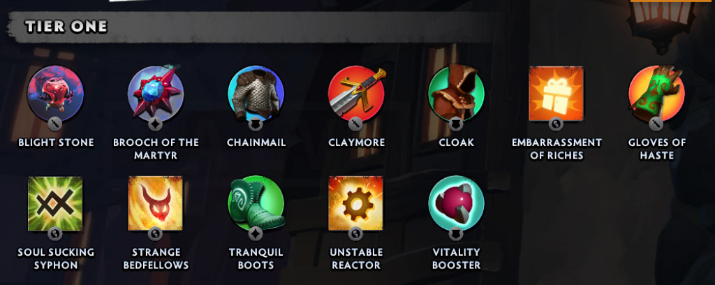 Dota Underlords Item Guide - Cheat Sheet, Tier List
