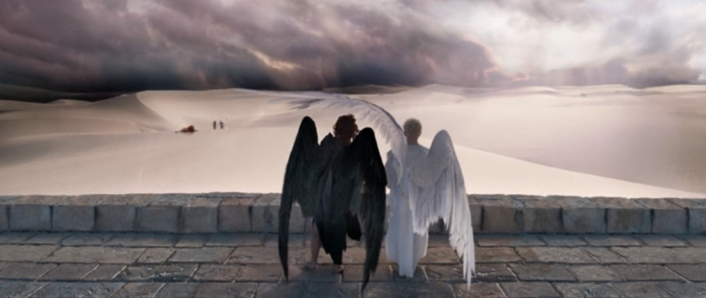 The Good Omens Miniseries is Definitely a Fanfic I Read in 2006