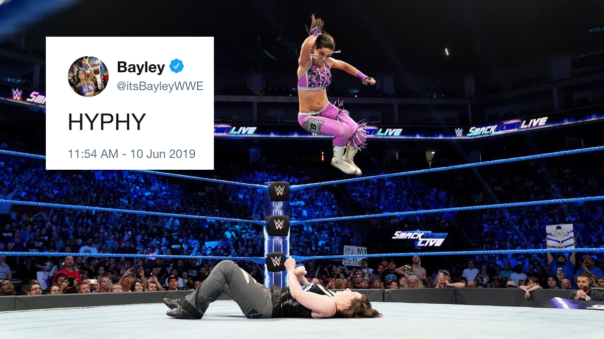Bayley elbow dropped her way back into our hearts and also Nikki Cross' chest on this week's SmackDown Live