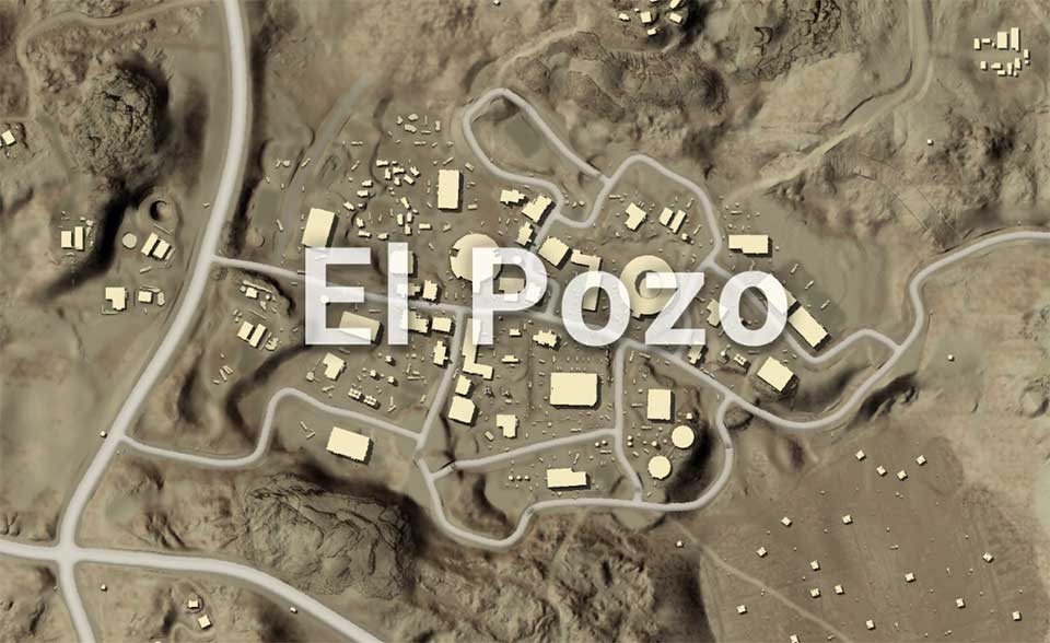 PUBG Mobile El Pozo location