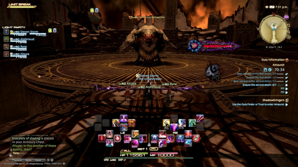 Amaurot FF14 Dungeon Guide